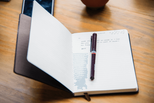 Journal for Grieving the Loss of a pet After Euthanasia
