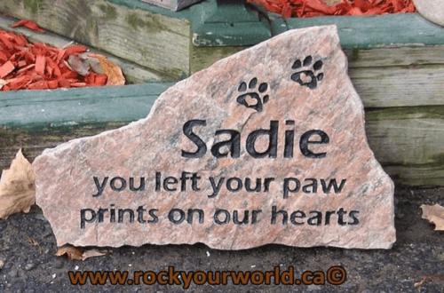 Cat memorial rock