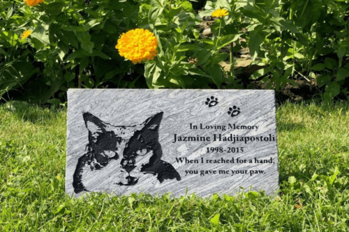 pet memorial markers with personal engraving