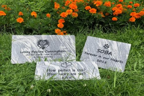 pet memorial plaques